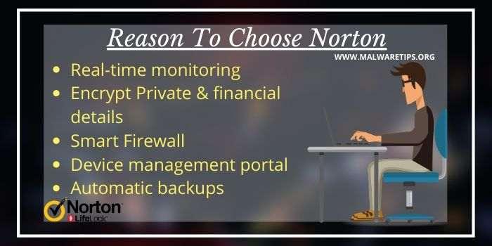 Reason To Choose Norton